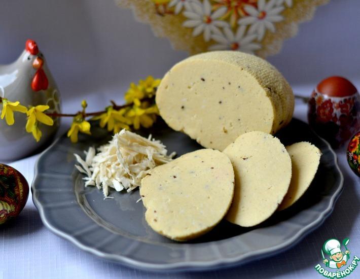 Рецепт: Словацкий пасхальный сыр
