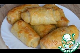 Рецепт: Молдавские пирожки с капустой