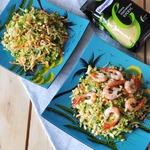 Вьетнамский салат с кус-кусом