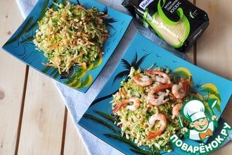 Рецепт: Вьетнамский салат с кус-кусом