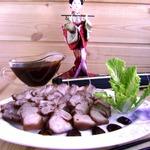 Ароматная грудинка с китайским острым соусом