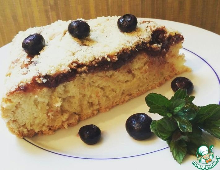 Рецепт: Пирог Постный праздник