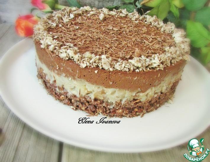 Рецепт: Грушево-шоколадный торт Крустильян