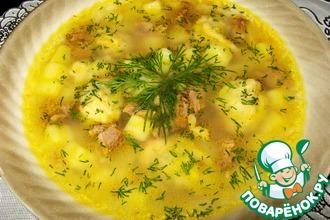 Рецепт: Суп с клецками Домашний