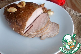 Рецепт: Сочное мясо Наоборот