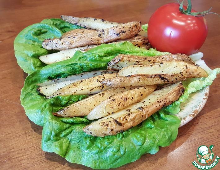 Рецепт: Запеченный картофель Частокол
