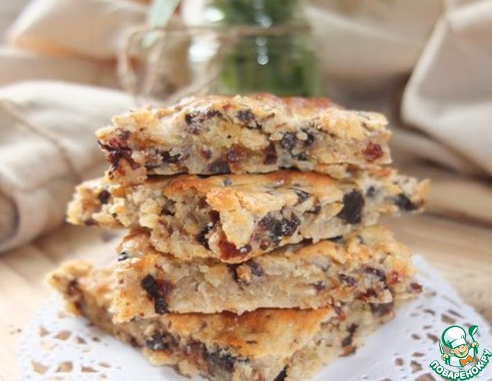 Рецепт: Овсяное печенье Быстрое