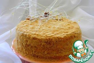 Рецепт: Торт Медовик на желтках