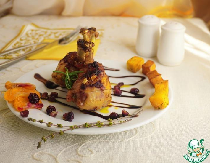 Рецепт: Любимый цыпленок Александра Дюма