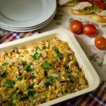 Гречка с овощами и мясом