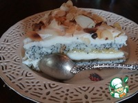 Ангельский торт с маскарпоне и маком ингредиенты