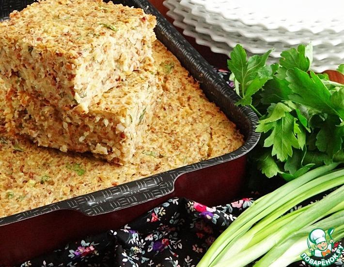 Рецепт: Запеканка картофельно-гречневая