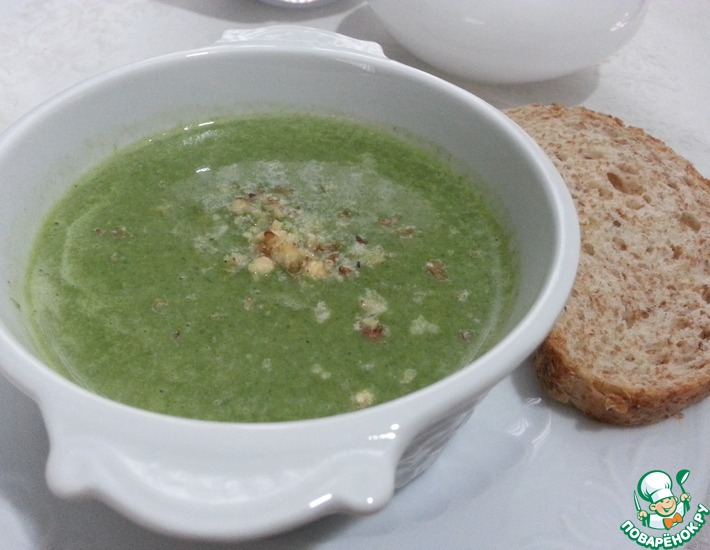 Рецепт: Крем-суп из шпината