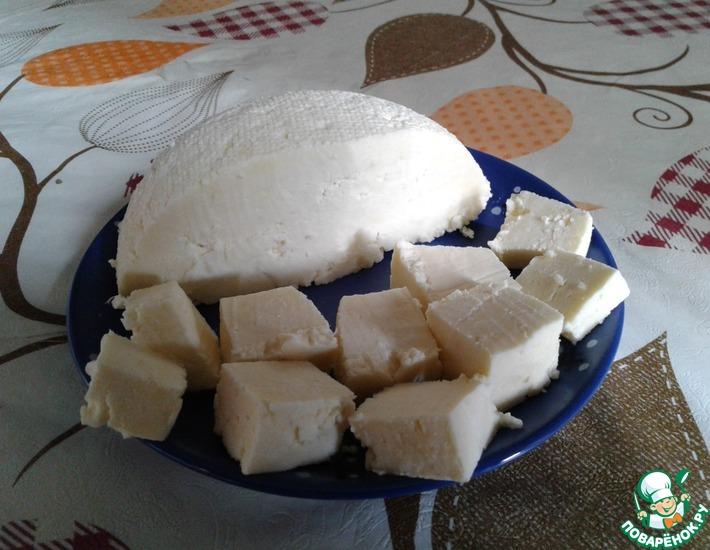 Рецепт: Сыр Панир