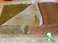 Бисквитный рулет Арбуз ингредиенты
