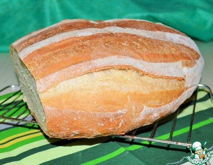 Рецепт: Французский сельский хлеб