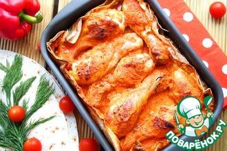 Рецепт: Куриные голени по-армянски