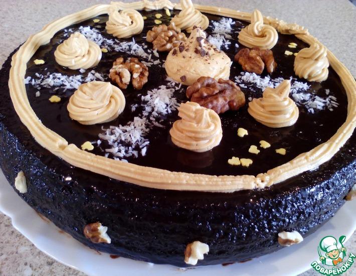 Рецепт: Торт Мулатка-шоколадка