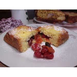 Французские тосты с сухофруктами