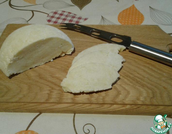 Рецепт: Нежный адыгейский сыр
