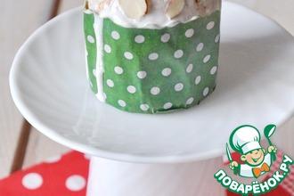 Рецепт: Миндальные кексы на ряженке