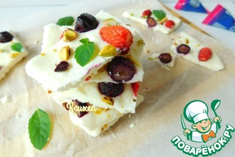 Рецепт: Йогурт и десерт Йогуртовая корочка