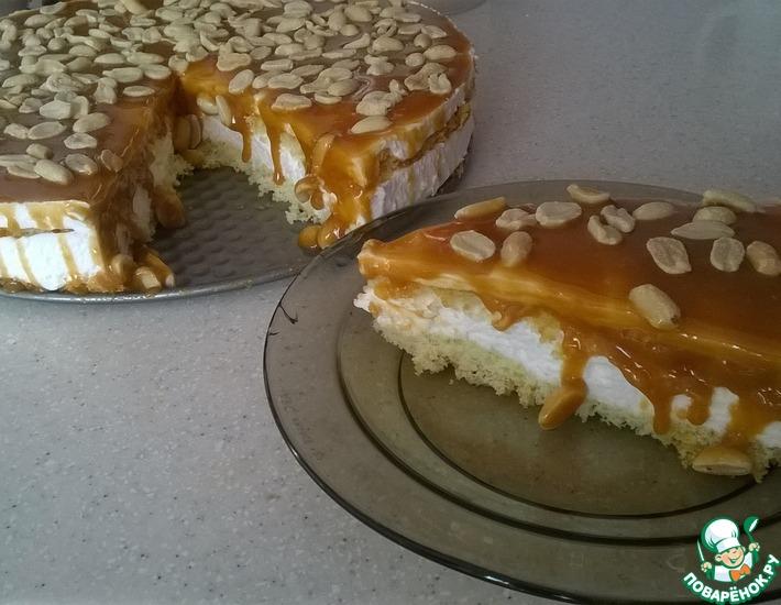 Рецепт: Десерт Карамельная нежность