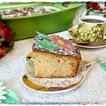 Нежный пирог с айвой