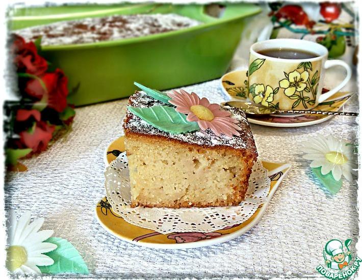 Рецепт: Нежный пирог с айвой