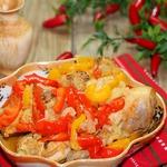Курица с овощами Восточные напевы