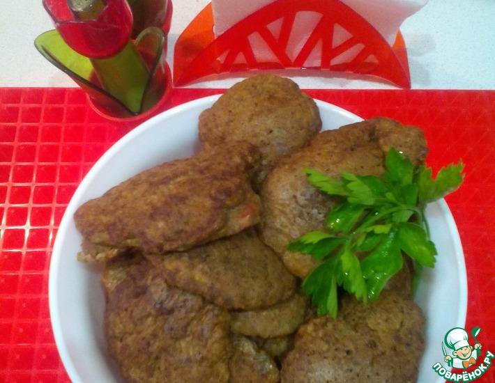 Рецепт: Печеночные мини-лепешки