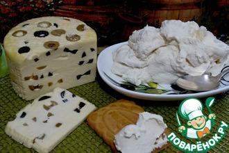 Рецепт: Сыр на йогуртной закваске с бонусом