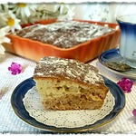 Пирог с орехами и корицей