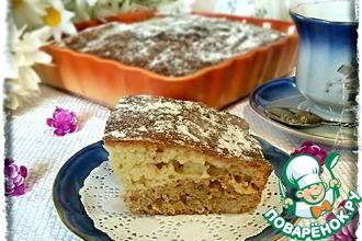 Рецепт: Пирог с орехами и корицей