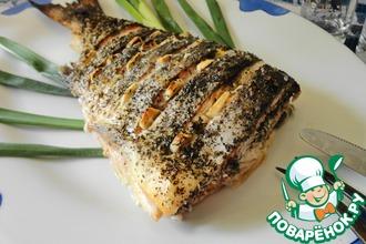 Рецепт: Хвост лосося по-азиатски