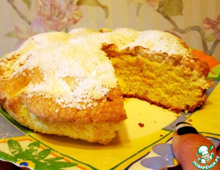 Рецепт: Нежный пирог Апельсинка