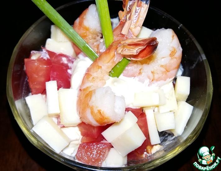Рецепт: Быстрый салат на завтрак