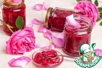 Рецепт: Варенье из чайной розы