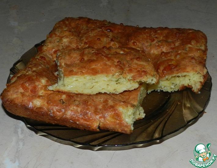 Рецепт: Самые ленивые хачапури