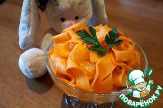 Рецепт: Морковь по-корейски в новом формате