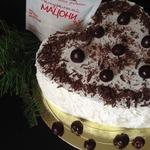 Торт Зимняя вишня