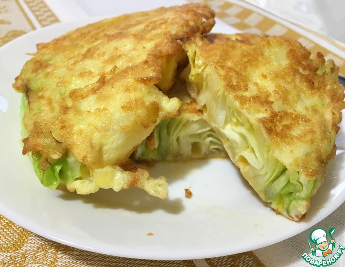 Рецепт: Легкая закуска из молодой капусты