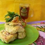 Карамельно-ореховые булочки