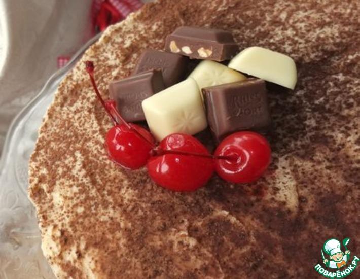 Рецепт: Торт Дачный