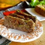Мясной пудинг с овощами