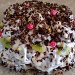 Торт без выпечки Пряничная горка