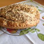 Ароматный хлеб без дрожжей на пиве