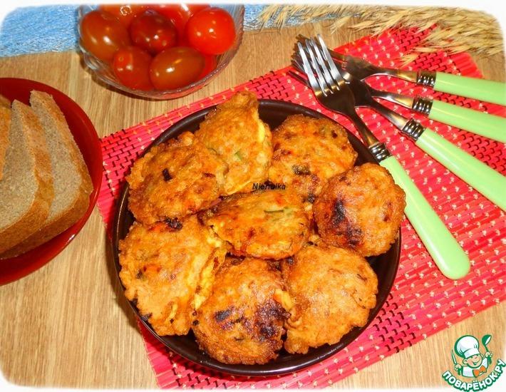 Рецепт: Морковно-гречневые котлеты в кляре