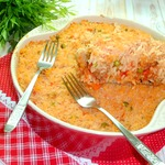 Итальянская рисовая запеканка по мотивам Сарту