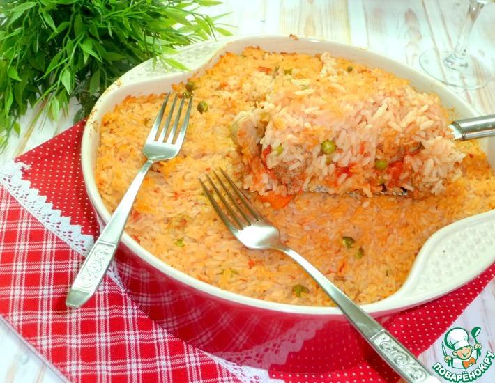 Рецепт: Итальянская рисовая запеканка по мотивам Сарту